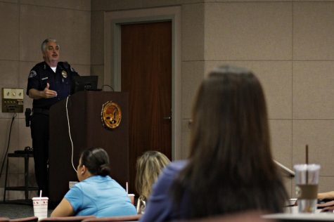 Students prepare themselves at active shooter awareness