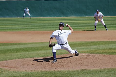 Falcons' baseball clinch season series 2-1, against El Camino College