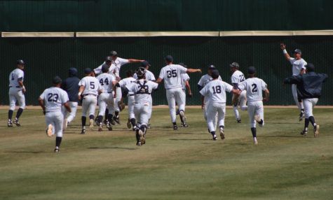 Falcons' baseball team advance to Super Regional Final