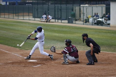 Falcons baseball win the series between Compton College