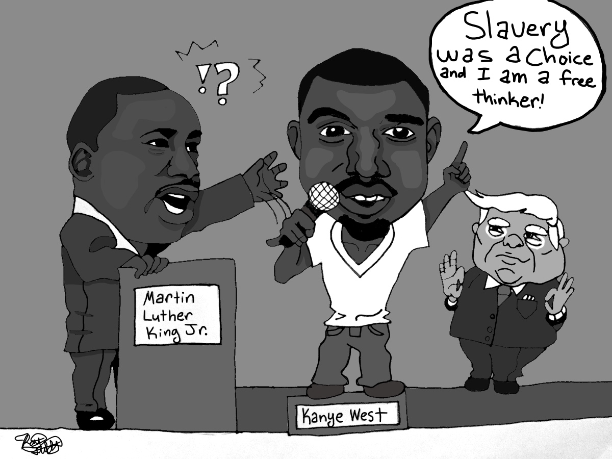Kanye West's call to freedom from thought