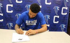 Falcon basketball's Jason Carter inks with four-year university