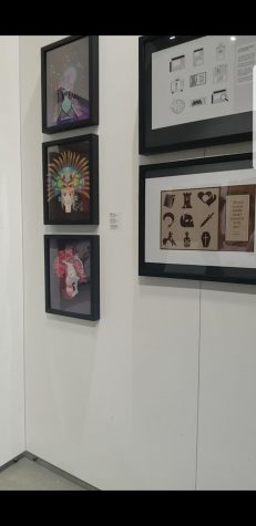 Student artwork is showcased at annual art gallery exhibit