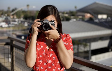 With a camera at her side, Alexandra Menendez is always ready to capture moments big and small. Courtesy of Alexandra Menendez