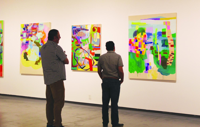 Hagop Najarian, art professor at Cerritos College, showcased his art at Rio Hondo College. The closing reception was on Sept. 30 from 1-4 p.m.