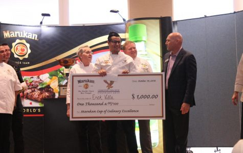 Marukan's fifth annual culinary arts competition welcomes high school contestants