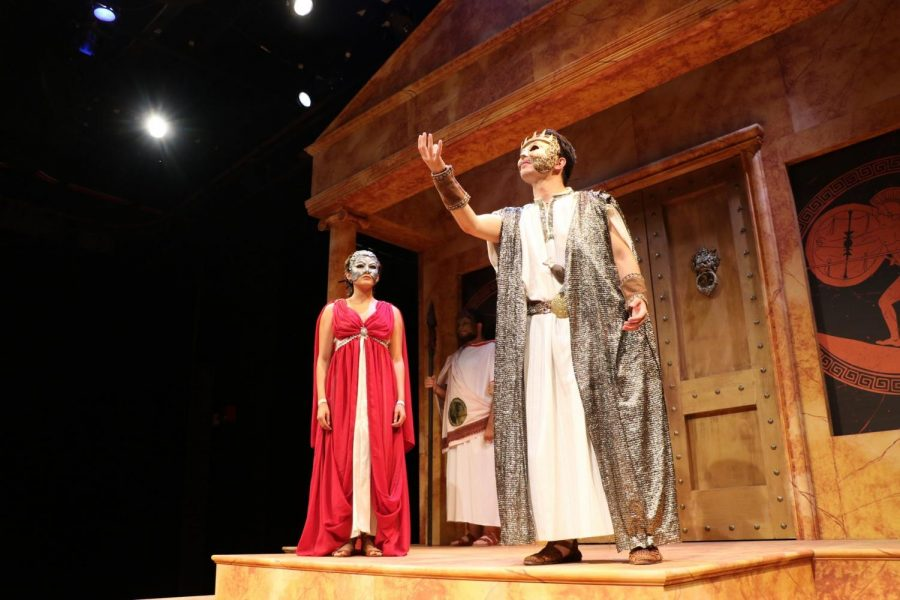 The Cerritos College Theatre Department put together the ancient Greek play,