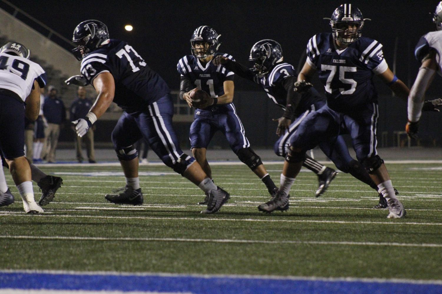 ef090e7a0 Costly turnovers against El Camino College ruin Falcons  playoff hopes
