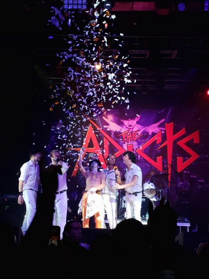 Adicts preform at the House of Blues on Oct. 28. Photo credit: Rebecca Aguila