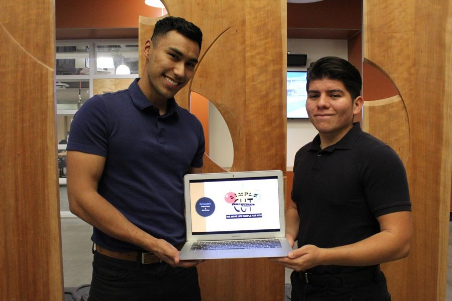 "Vice President of Phi Beta Lambda, Andres Perez, and VP of Alpha Gamma Sigma, Alex Ochoa, hope to offer affordable, healthy, pre-made meals. ""Simple Cut Meals"" wants to keep it organic and fresh."