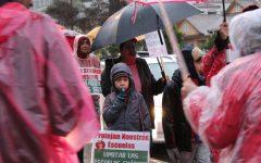 LAUSD union strike continues in pursuit of improving schools despite rainy weather