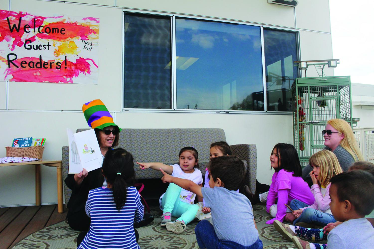Getting 'Wacky' with guest readers