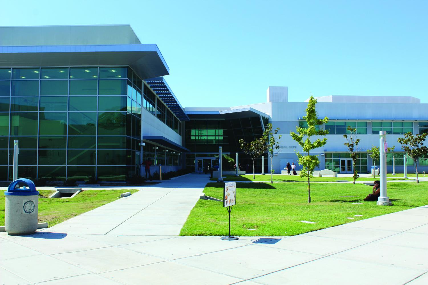 The campus offers a variety of services and programs to encourage student success. Cerritos College welcomes all incoming students. Photo credit: Edgar Mendoza