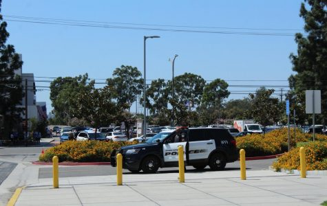 Cerritos College police and the Norwalk Sheriff's Station were posted on various corners of the Cerritos College campus, blocking off the affected areas. They arrived shortly before noon due to a suspect allegedly disrupting a math class as well as a potential bomb threat on Sept. 3, 2019.