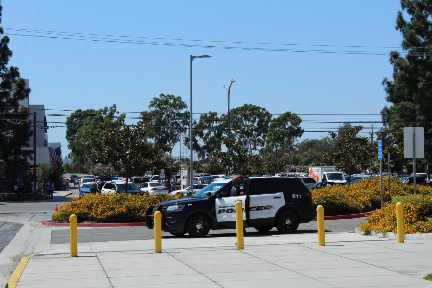 Campus closed following a potential bomb threat, suspect is in custody