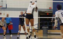Falcons Women's volleyball team defeats Hawks