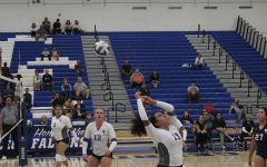 Falcon Women's Volleyball team is defeated by El Camino College Warriors