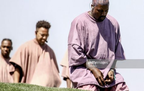 INDIO, CALIFORNIA - APRIL 21: Kanye West performs Sunday Service during the 2019 Coachella Valley Music And Arts Festival on April 21, 2019 in Indio, California