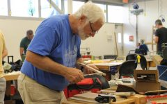 Woodworking students 'blown away' by $2.3M gift left by alumnus