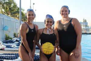 Women's water polo members speak on their beginnings