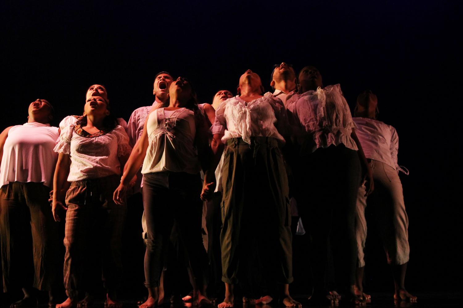 The Dance Department put on their semesterly dance concert and made sure they tapped into their emotions before heading on stage. The dance concert took place at the Burnight Center Theatre Oct. 31 to Nov. 1-2.