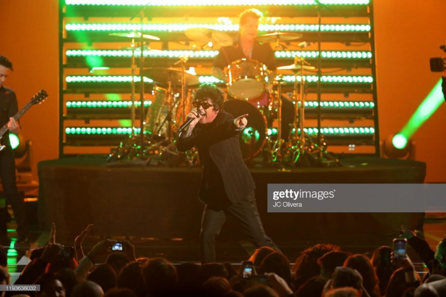 LOS ANGELES, CALIFORNIA - DECEMBER 12: Billie Joe Armstrong of Green Day performs onstage during The Game Awards 2019 at Microsoft Theater on December 12, 2019 in Los Angeles, California