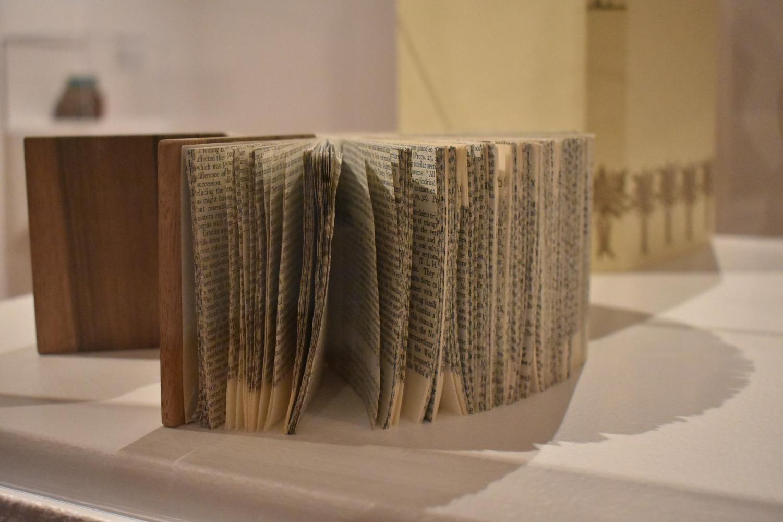 Books as art at the Long Beach Art Museum