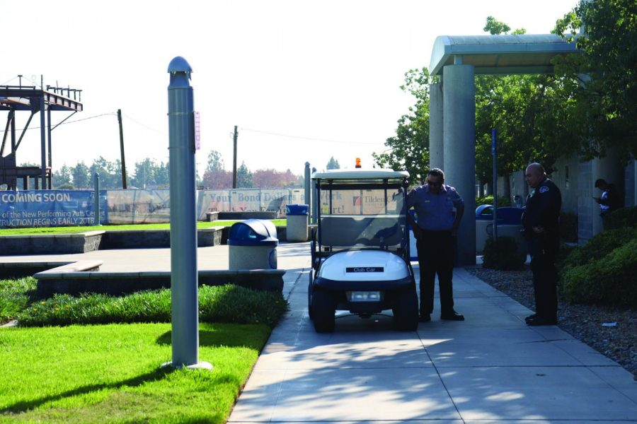 The Cerritos College Campus Police increased its presence on campus following a suspect's threat that stated the campus would be bombed on Monday. Cadets and officers were stationed at intervals across campus, to ensure student peace and safety on Dec. 9, 2019.
