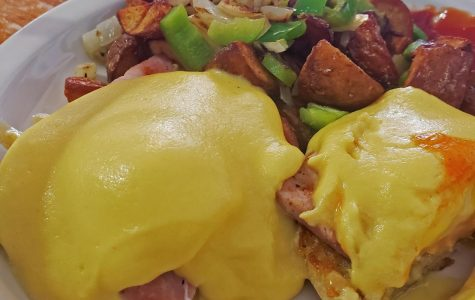 The eggs Benedict are an eggy delight that creates an orchestra of outstanding flavors in your mouth. A side of Irish potatoes will piece together the entire dish together beautifully.