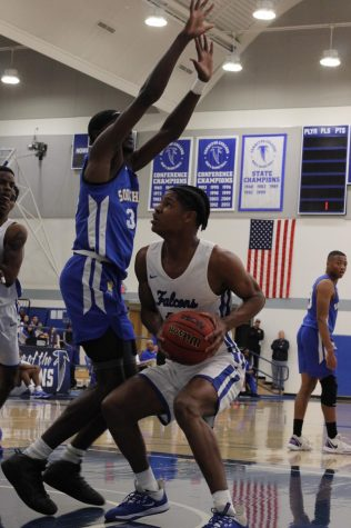 Falcons fly by Compton College and into No. 1 conference slot