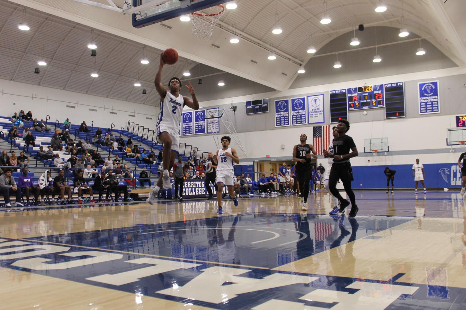 Falcons soar into playoffs after beating Compton College