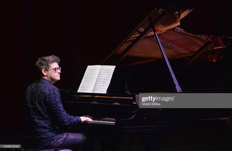 BEVERLY HILLS, CA - OCTOBER 25: Ory Shihor performs during the American Friends of the Israel Philharmonic Orchestra Los Angeles Gala 2018 at Wallis Annenberg Center for the Performing Arts on October 25, 2018 in Beverly Hills, California.
