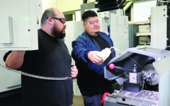 Machine Tool Technology students receive $20K grant