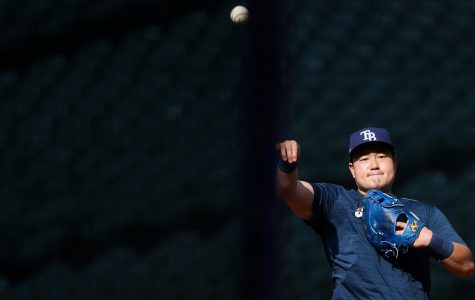 Tampa Bay Rays first baseman Ji-Man Choi is going back to South Korea until the coronavirus pandemic in the United States subsides. DIRK SHADD/Tampa Bay Times