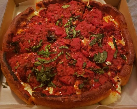 A pizza that was made from the pizza gods! definitely a come back if you
