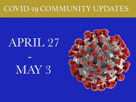 Weekly updates are continuing, despite the number of changes decreasing. Information was last updated April 27 2020 Photo credit: Edgar Mendoza