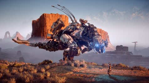 Full of highly detailed mechs, Horizon is a spectacle to behold. The game released February 28, 2017.