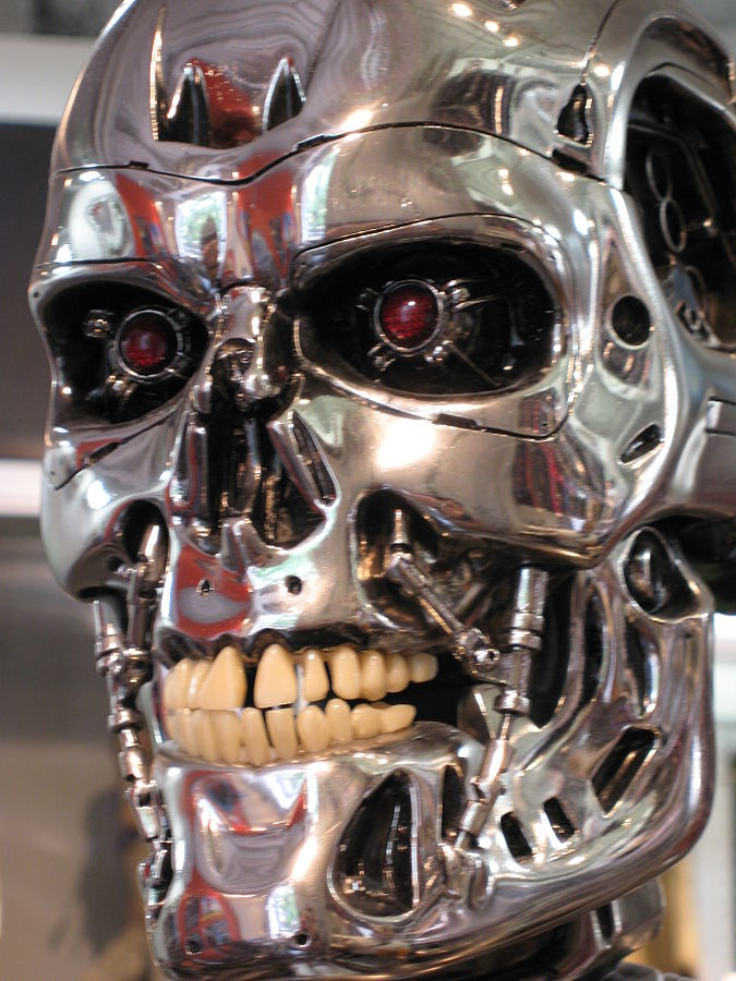 This+is+a+model+that+was+used+in+the+Terminator+movies.+This+shows+how+terrifying+the+original+design+was+with+how+it+has+teeth+similar+to+ours.
