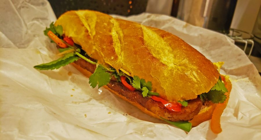 Banh oui is located by Amoeba records and Danny Trejos' famous tacos. This sandwich is definitely worth the trip.