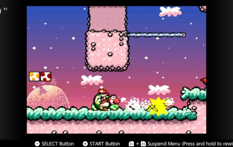 The theme of the level is that there are guys roaming around. Swallowing them would create a giant egg for the player to throw, and if it hits the ground it creates a shockwave.
