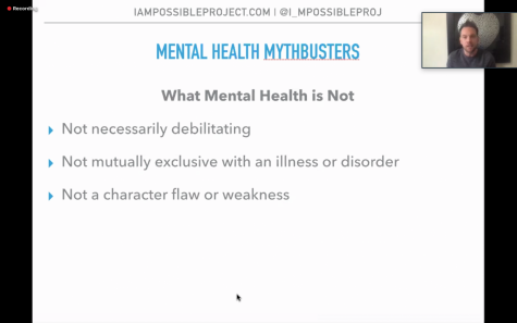 """Joshua Rivedal was invited by Cerritos College Health Services to peak to students. He addressed some mental health myths during """"How to Live Mentally Well and Crush it"""" Webinar, May 12."""