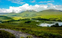 Near bridge of Orchy on the West Highland Way, you pass this beautiful loch heading to General Wade's road and across Rannoch Moor.   The West Highland Way is a 96-mile walk and on my bucket list to do for many years. During the walk I was reminded of a George Orwell quote -