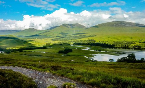 Near bridge of Orchy on the West Highland Way, you pass this beautiful loch heading to General Wade