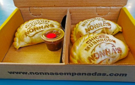 Ask for a side of Nonna's spicy chimichurri sauce! Pairs perfectly with all three empanadas!