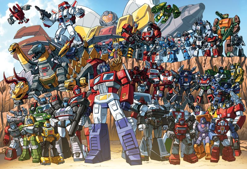 The Transformers is one of the most pop culture icons of the '80s. With its colorful cast of characters and deep lore its no secret that its still around to this day and referencing the first cartoon most of the time.