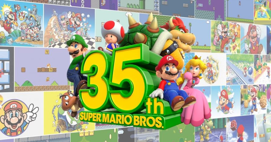 This+year+celebrates+35+years+since+the+release+of+the+original+%22Super+Mario+Bros.%22.+To+celebrate%2C+Nintendo+released+a+Direct+focus+of+the+red+and+blue+plumber.+Photo+credit%3A+Nintendo