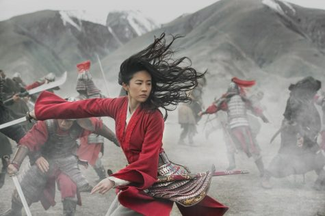 A warrior in battle. Mulan fights alongside her fellow comrades to protect China and the dynasty.