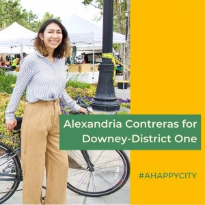 Alexandria's campaign photo.  She is the only challenger for district one. Photo credit: Alexandria Contreras
