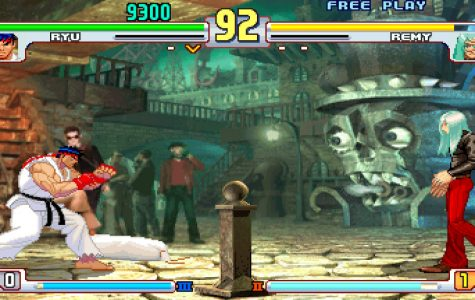 Street Fighter III: Third Strike released for arcades in 1999. We see ryu facing off against one of the new additions to the game Remy who is made to replace guile. Photo credit: Oscar Torres