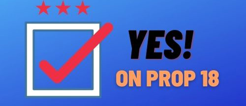 Prop 18: voting age
